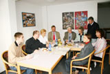 Arbeitsgruppe in Aktion